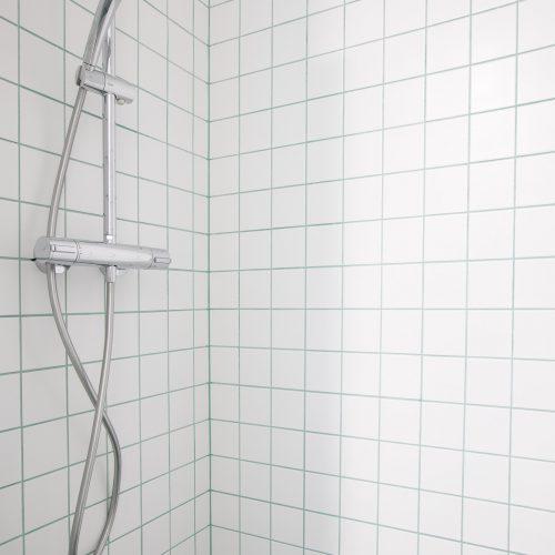 Koupelna vybavená pračkou